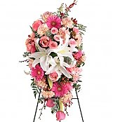 Flower Bouquets: Field of Dreams Standing Spray