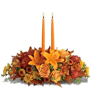 Flower Bouquets: Family Gathering Centerpiece