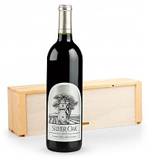Wine Gift Crates: Silver Oak Alexander Valley Wine Crate