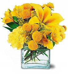 Flower Bouquets: Sunshine Thoughts