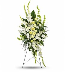 Funeral Flowers: Magnificent Life Spray