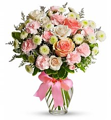 Flower Bouquets: Cotton Candy